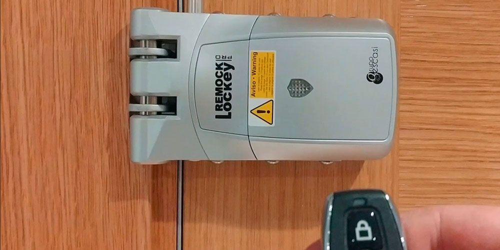 Cerraduras de seguridad invisibles para locales comerciales